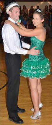 PHS HC dance king-queen