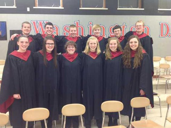 PHS honor choir photo