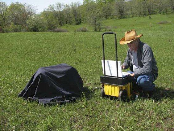 Pearce in Field