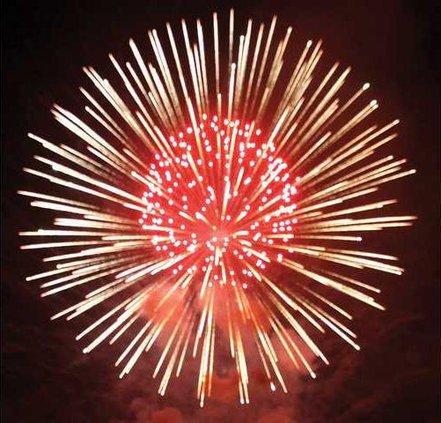 Rockin Rewey fireworks