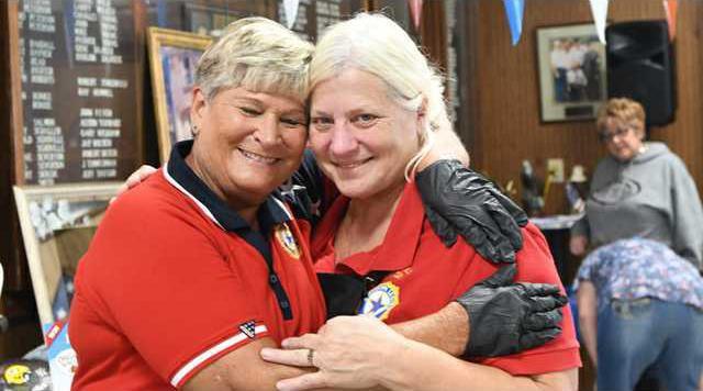 SG flood benefit Julie and Jeannine