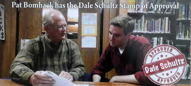 Schultz Dem flyer