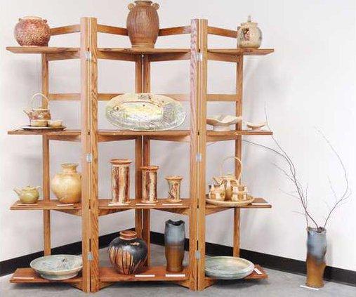 art show pottery