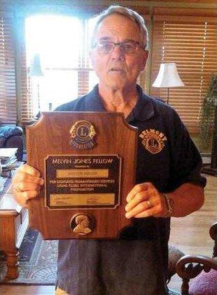 belmont lion award