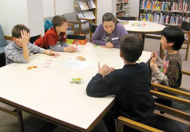 library board games