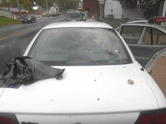rock rear window genoa car