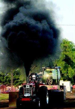 tractor pull diesel