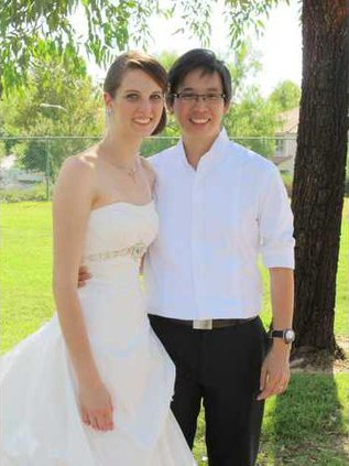 Christy Wagner wedding
