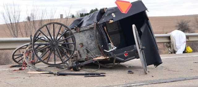 accident Amish hit