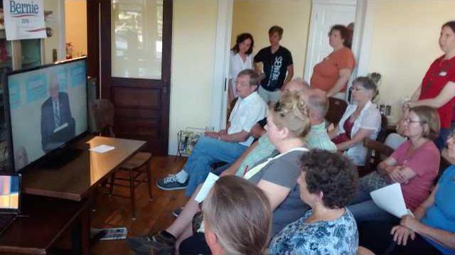 Bernie meeting 7-29 2