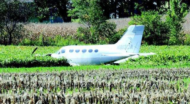 plane off runway