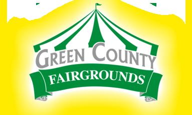 green county fair stock logo