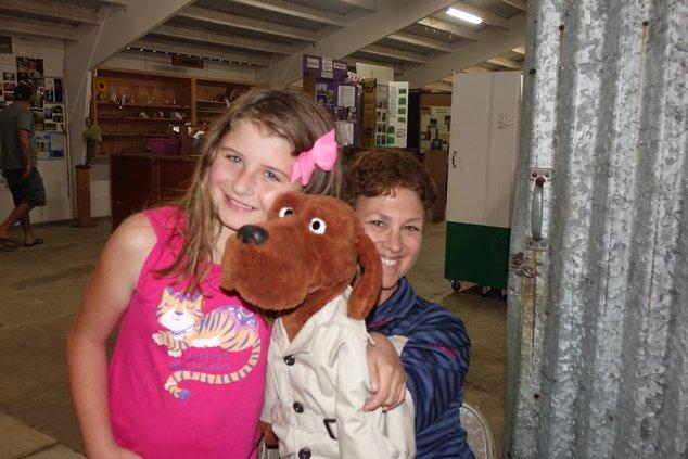 Having fun at the Richland County Fair