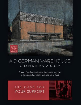 A.D. German Warehouse receives Save America's Treasures grant funds