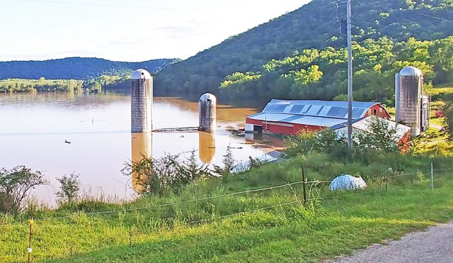 Fortney Farm in the 2018 flood