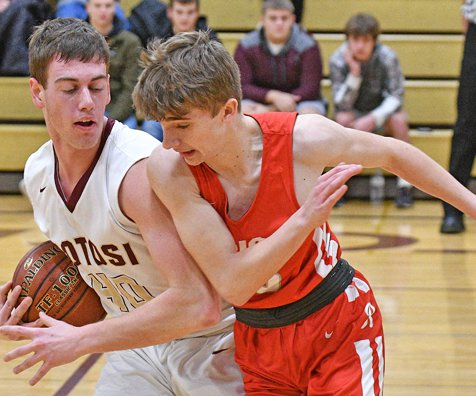 Potosi boys respond after loss to Cuba City