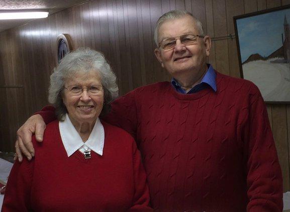 Unbehauns celebrating 65th anniversary