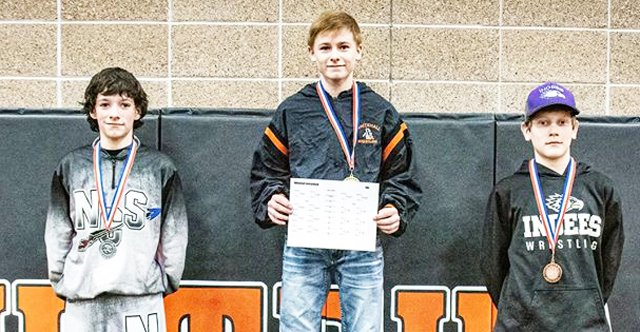 Hemi Steele takes second