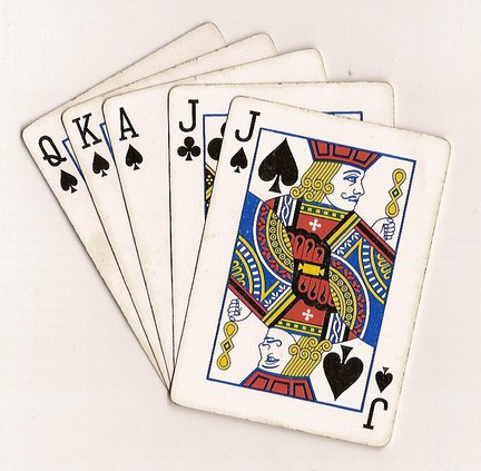 deck of cards euchre