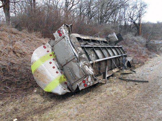 milk truck crash 2
