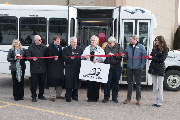 Ribbon cut for the new Center Line bus service