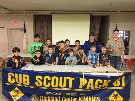 Pinewood Derby winners: a fun way to cross the finish line
