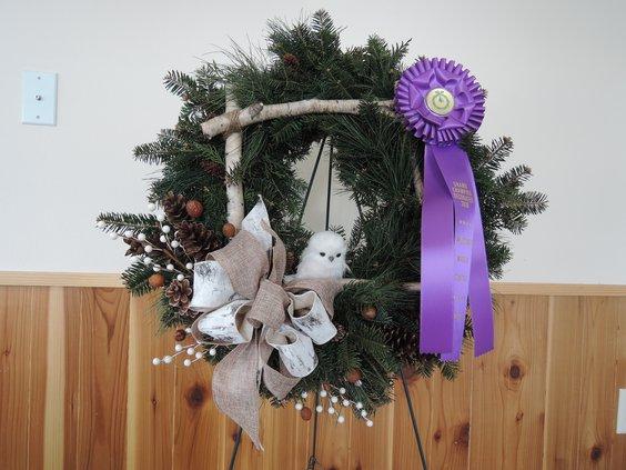 Cooks' Woods wreath