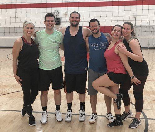 division a volleyball