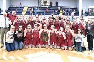 Platteville girls team