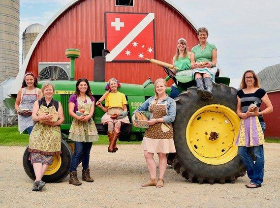 women farmer recipe options