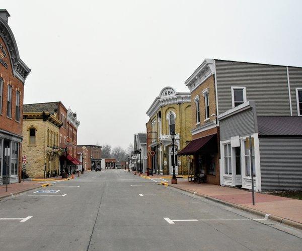 main street shullsburg