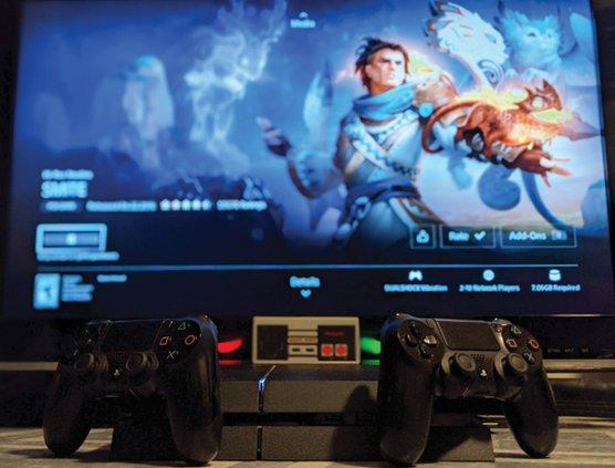 ps4 nes video games esports