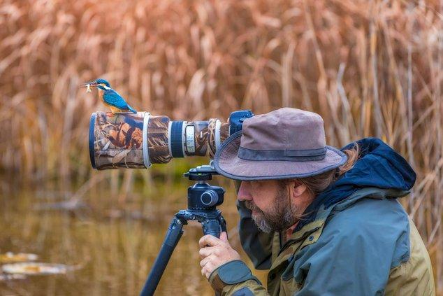 photographer stock camera