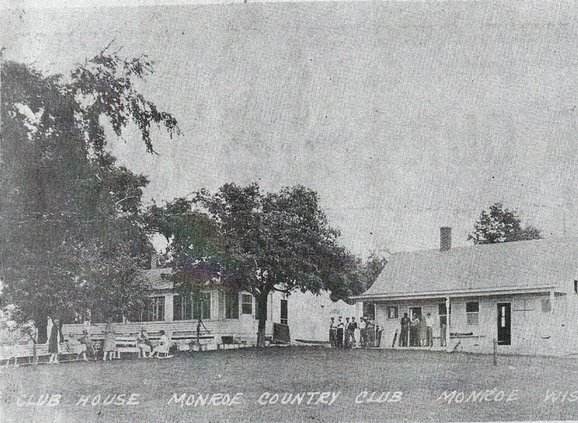 old photo monroe country club