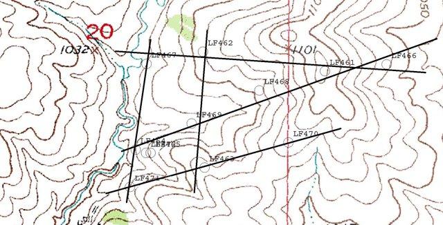 Pioneer Farm Topography