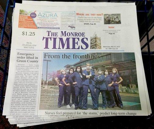 monroe times stock