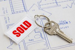 sold housing home blueprint stock