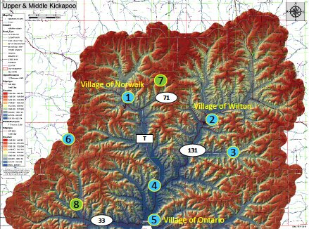 Kickapoo Locations
