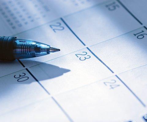 calendar stock