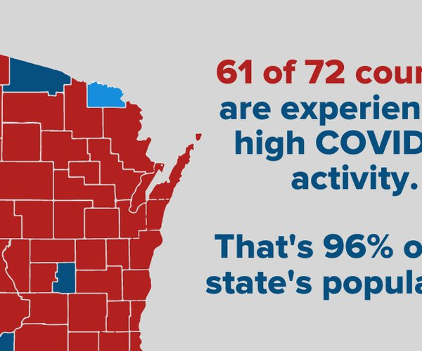 high activity counties