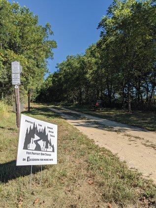 """Protect the Sugar River Trail"""