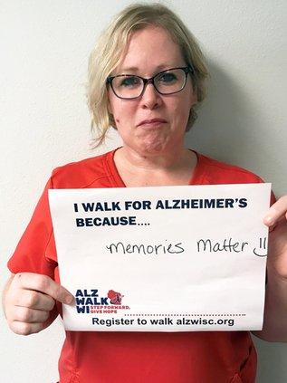 alzheimer's walk