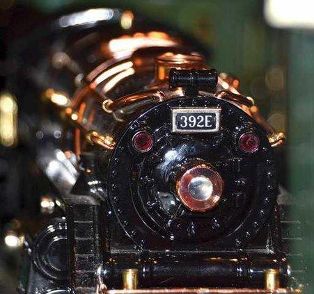 train engine closeup