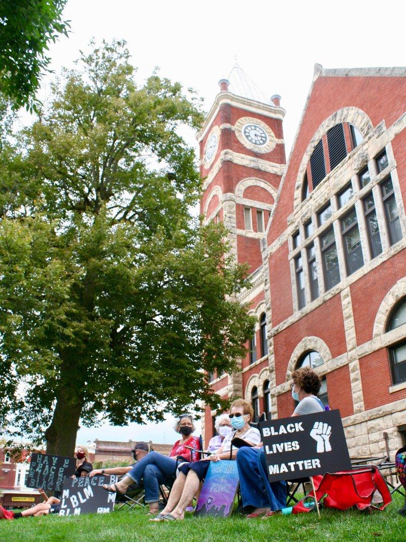 Black Lives Matter sit-in 3