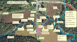 Conway Creek project schematic