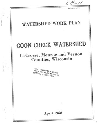 Coon Creek Watershed Plan