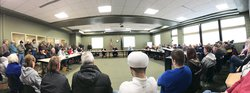 Crowd at Dec 2019 CC BOS meeting