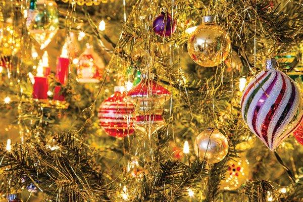 xmas lights ornaments christmas holiday