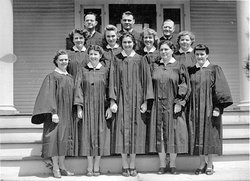 monticello choir 1950