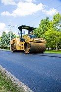 road work paving